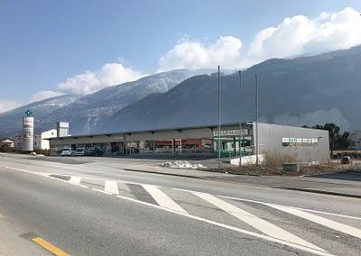 Bâtiment Maxi Stockage, solution de self-stockage à Uvrier/Sion (Valais)